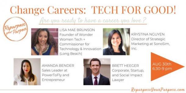 Change Careers: Tech for Good