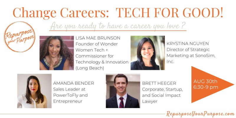 Change Careers: Tech for Good