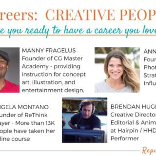How to CHANGE CAREERS: CREATIVE PEOPLE edition!