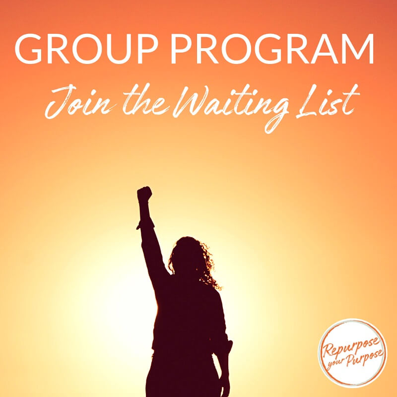 Join the Waiting List for the next Group Program