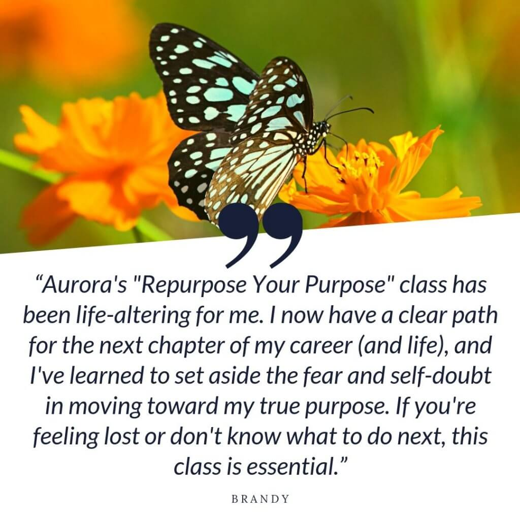 Repurpose Your Purpose Testimonial